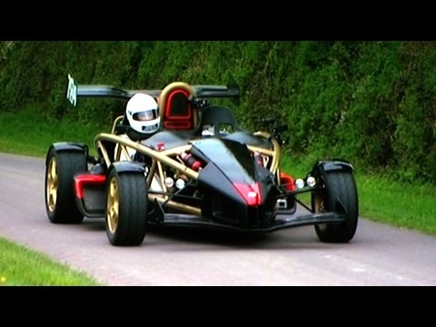 Ariel Atom V8: The Fastest Accelerating Road Car On The Planet - Fifth Gear