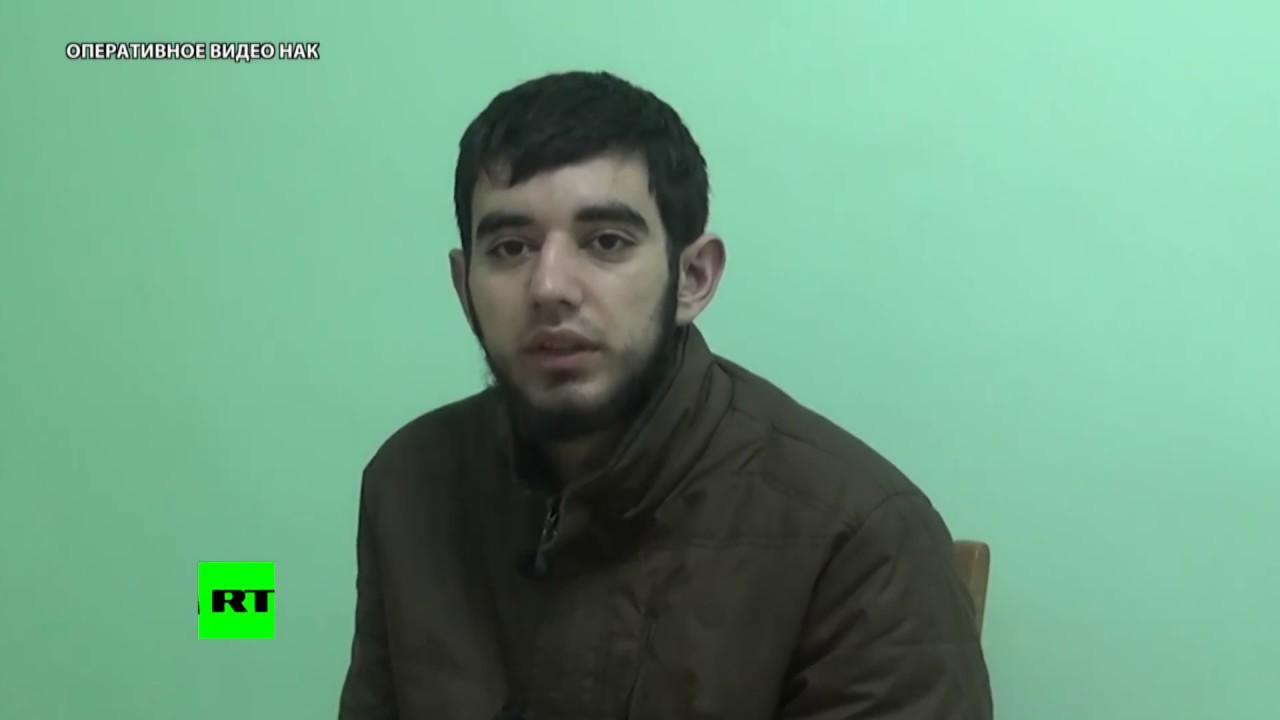 Допрос планировавших теракты в Дагестане сторонников ИГ