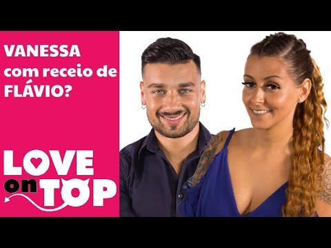 Vanessa com receio de reação de Flávio?