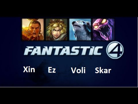 Roliga matcher 4 - Fantastic Four