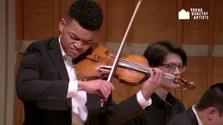 Live! Violinist Randall Goosby and pianist Zhu Wang