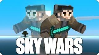 ¡MI AMIGO EL LAG! Sky Wars | Minecraft