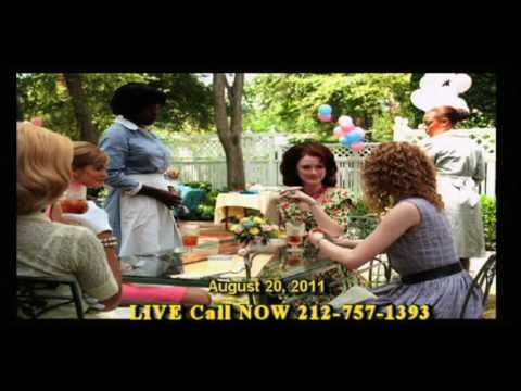 THE HELP Movie - Black Women review the movie- SISTAH TALK TV SHOW- Televised LIVE AUG. 20, 2011.