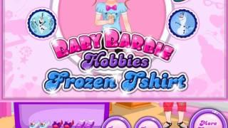 Маленькая Барби стала Фрозен Игра для девочек