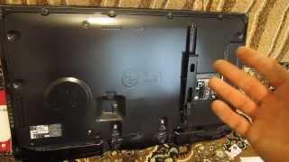 Закрепить кронштейн на  Телевизор LG 42LA660V(, 2014-01-31T04:15:43.000Z)