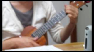 "I sing along with ukulele, Huey Lewis & The News song ""If this is i..."