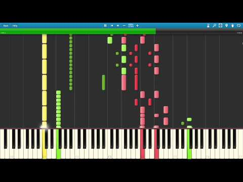 Geometry Dash - Stay Inside Me (Practice Mode) Synthesia +MIDI download
