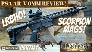 PSA ARV REVIEW - SCORPION MAGS - LAST ROUND BOLT HOLD!