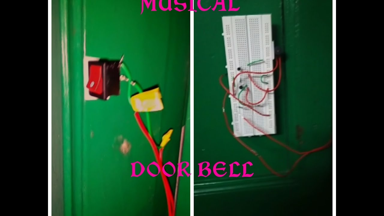 How To Make A Musical Door Bell Calling Youtube Simple Ic 555 Circuit Diagram Image