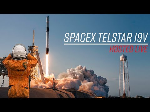 Watch SpaceX launch the heaviest commercial satellite ever AND manage to recover the booster!