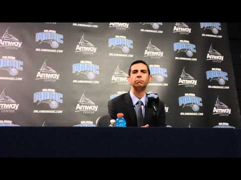 James Borrego New Orleans Pelicans Postgame Interview