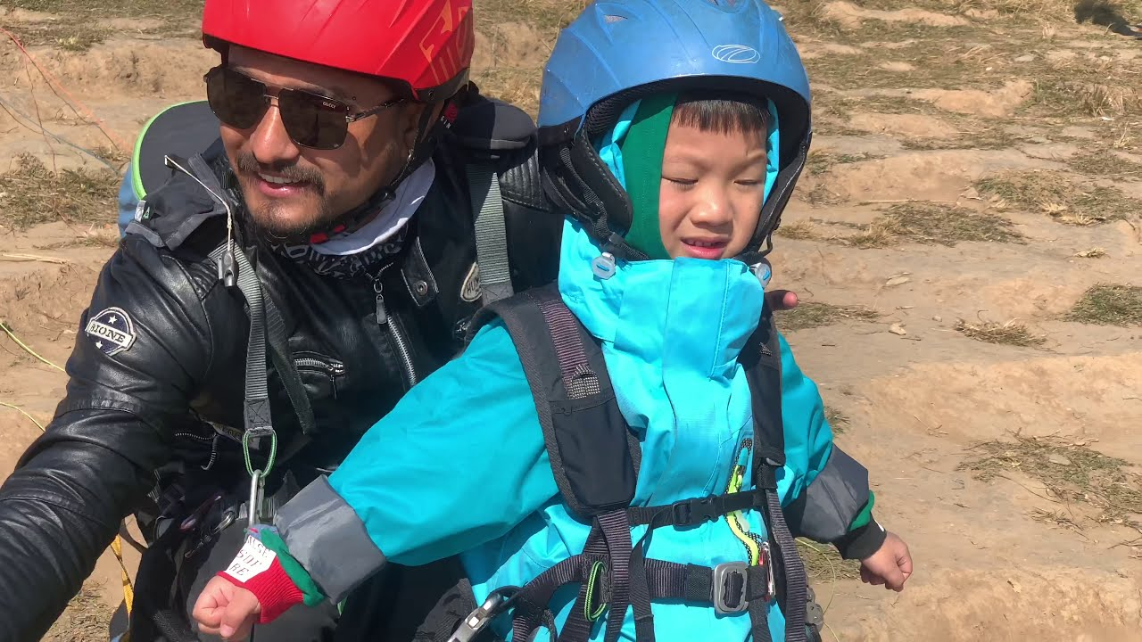 Meet Youngest Paraglider Chinese Boy Paragliding | Pokhara | Nepal