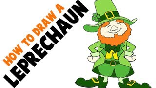 How to Draw a Leprechaun for Saint Patrick