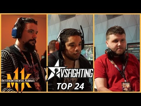 MK11 Pro Kompetition: VSFighting 2019 A FoxyGrampa, Nivek, IrishMantis (Top 24)
