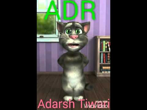Mishir Ji Tu ta bada bada thanda -- Talking Tom - Dj Adarsh Rock -- ADR