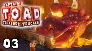 Kampf gegen den Mega-Drachen! | #03 | Captain Toad: Treasure Tracker