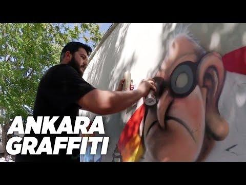 TURBO & STAK & BONG - Ankara Graffiti