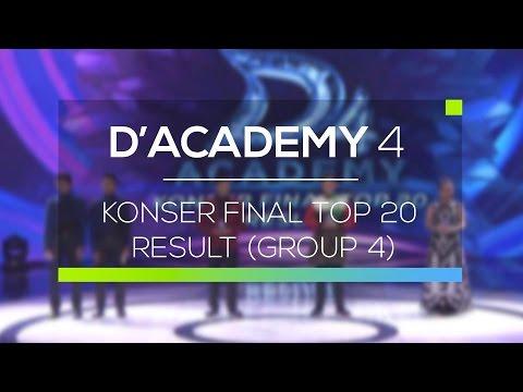 Highlight D'Academy  4 - Konser Final Top 20 Result (Group 4)