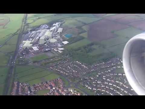 East Midlands Airport  landing onboard