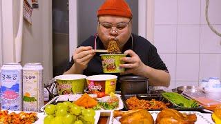 「혼밥 가이드」편의점먹방│뷔페보다 비싼 편의점 음식...당분간FLEX 참자🤑Mukbang Eatingshow [Convenience store Food]