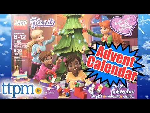 2018 LEGO Friends Advent Calendar From LEGO