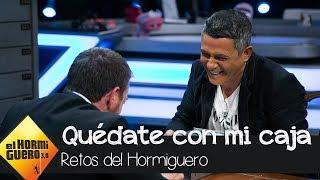 Alejandro Sanz usa sus artimañas con Pablo Motos para quedarse el botín - El Hormiguero 3.0