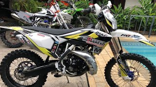 Test rider Mxf 250 2019 - Roiando de importada