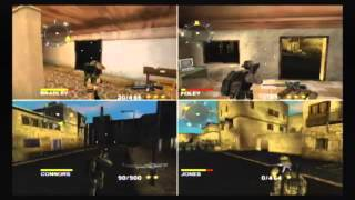 Conflict Desert Storm 2 GameCube Multiplayer Commentary