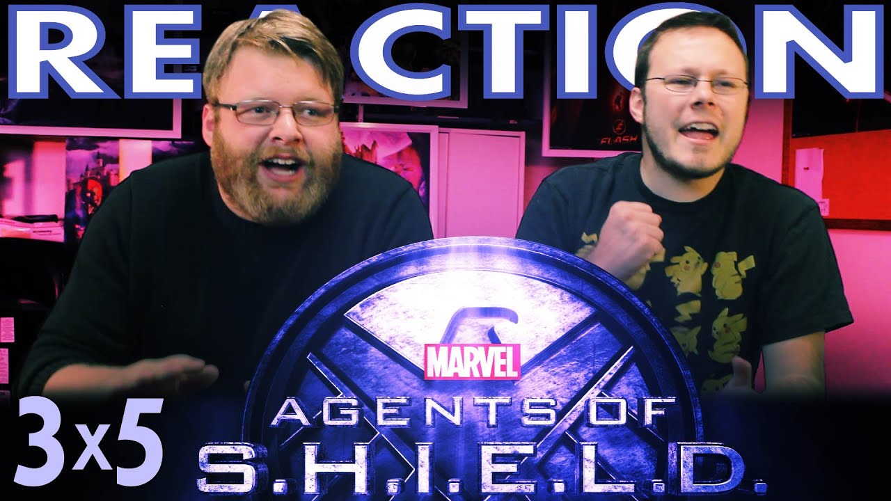 Agents of Shield 3x5 REACTION!!