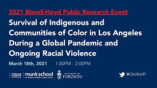 Survival of Indigenous and Communities of Color in Los Angeles During the Pandemic