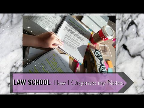 Law School   Study Tips   How I Organize My Notes:  Powerpoint Lectures & Open Book Exam   J Wong