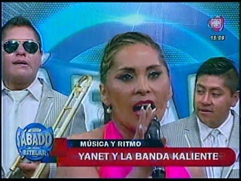 VIDEO: YANET Y LA BANDA KALIENTE - Por Tu Culpa (en Sábado Estelar) - WWW.VIENDOESLACOSA.COM