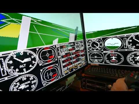 Wayne Piekarski | Modifying Microsoft Flight Simulator 4 to