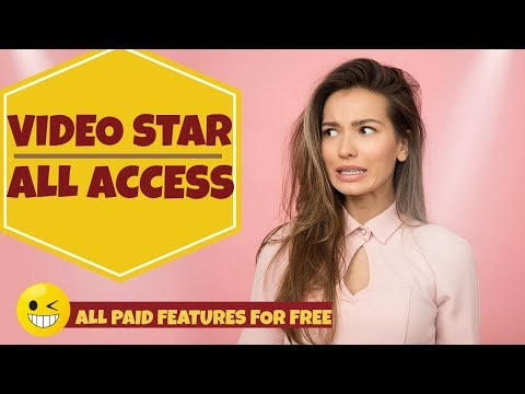 Free Video star ALL ACCESS - How To Get Free Video Star Packs (IOS) 2019 / Videostar++