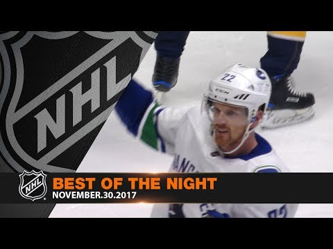 D. Sedin's 1,000th NHL point highlights a jam-packed night