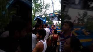 Madaripur vanga bus truck  accident