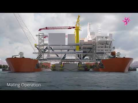 Aasta Hansteen topside marine operations November & December 2017