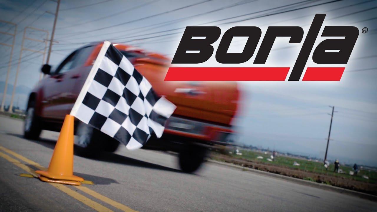 Borla Exhaust for 2015-2020 3.6L V6 Chevy Colorado & GMC ...