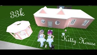 Kawaii Kitty House 😺 | Bloxburg Speed Build | Roblox: Welcome to Bloxburg [BETA]
