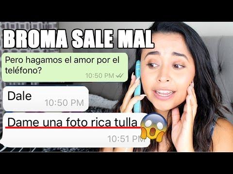 BROMA A CHICO TINDER CON CANCIÓN DE REGGEATON ME PIDE FOTOS DESNUDA!! | BabiBelleza