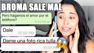 BROMA A CHICO TINDER CON CANCIÓN DE REGGEATON🔥 ME PIDE FOTOS DESNUDA!! | BabiBelleza