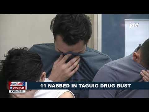 11 nabbed in Taguig drug bust