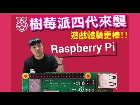 Raspberry PI 4 樹莓派四代來襲 遊戲體驗更棒 運行性能提升 增加NAOMI SS模擬器 還能跑PGM2 太讚的特色電玩啦!!
