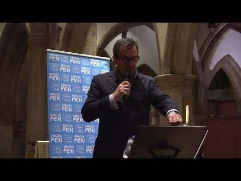 Tony White for Ahmed Naji - English PEN Modern Literature Festival : Writers Centre Kingston
