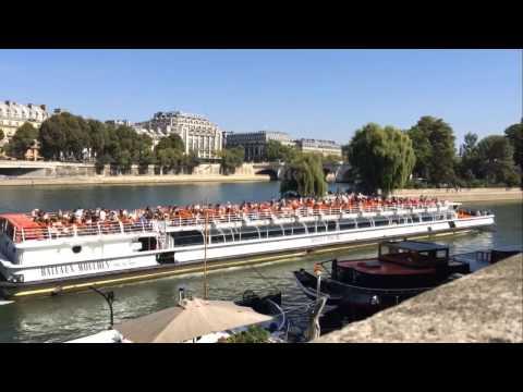 La Seine, le Luxembourg Time-Lapse
