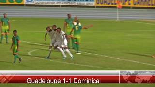 Julian Wade performace vs Guadeloupe