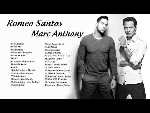 Romeo Santos y Marc Anthony Mix 2016 - Mejores Exitos