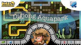 [~Dragon of  Water~] #2 Digjong Aquapark - Diggy's Adventure