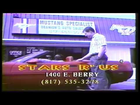 Ernest McGhee The Texas Legend   100 Commercials