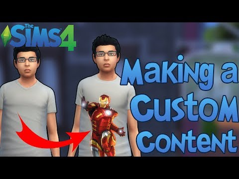 The Sims 4: How To Make Custom Contents (TUTORIAL)